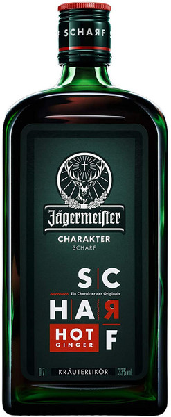Buy Jagermeister Scharf Hot Ginger online at sudsandspirits.com and have it shipped to your door nationwide. Jagermeister Scharf Hot Ginger is a recipe based on the 80-year-old original created by Curt Mast, it follows the same simple principle: no compromises. Its intense kick of hot ginger isn't for everyone, can you handle the heat?