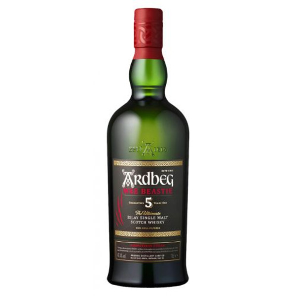 Buy Ardbeg Wee Beastie 5 Years Old Whisky online at sudsandspirits.com and have it shipped to your door nationwide.
