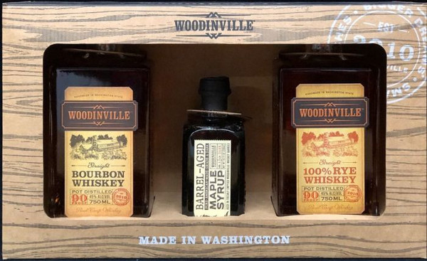 Buy Woodinville Whiskey Old Fashioned Gift Pack online at sudsandspirits.com and have it shipped to your door nationwide.