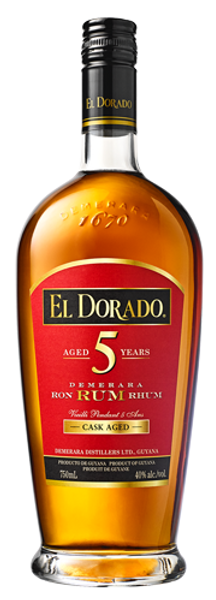 Buy El Dorado 5 Year old Rum online at sudsandspirits.com and have it shipped to your door nationwide.