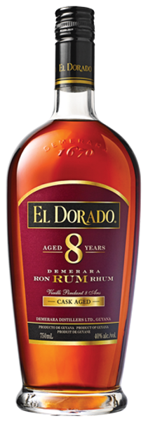 Buy El Dorado 8 Year old Rum online at sudsandspirits.com and have it shipped to your door nationwide.