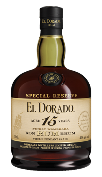 Buy El Dorado 15 Year old Rum online at sudsandspirits.com and have it shipped to your door nationwide.