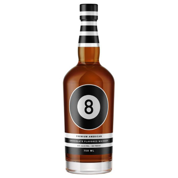 Buy 8-BALL PREMIUM CHOCOLATE WHISKEY online at sudsandspirits.com have it shipped to your door nationwide