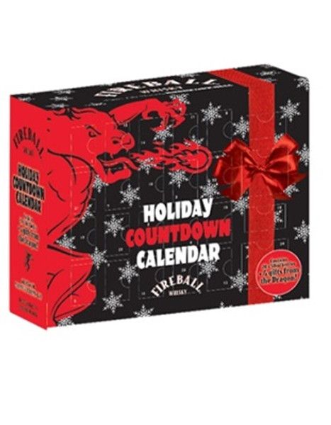 Buy Fireball Countdown Calendar Gift Set online at sudsandspirits.com and have it shipped to your door nationwide.