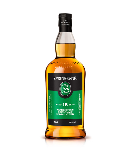 Buy Springbank 15 Year Old Scotch Whisky online at sudsandspirits.com and have it shipped to your door nationwide.