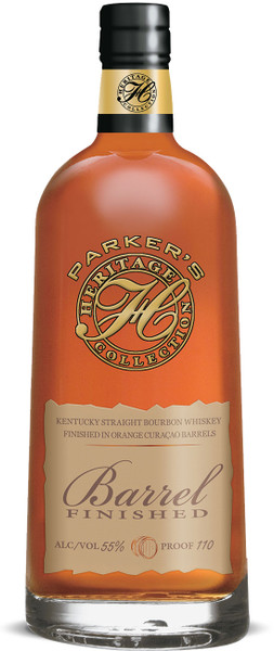 Buy Parker's Heritage Collection 12th Edition Bourbon Finished in Orange Curacao Barrels online at sudsandspirits.com and have it shipped to your door nationwide.