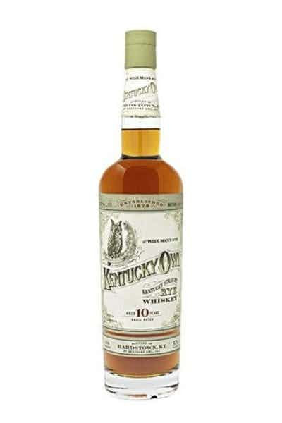 """Buy Kentucky Owl Rye Batch #4 """"The Last Rye"""" Whiskey online at sudsandspirits.com and have it shipped to your door nationwide."""