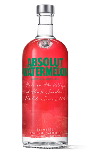 Buy Absolut Watermelon Vodka  online at sudsandspirits.com and have it shipped to your door nationwide.