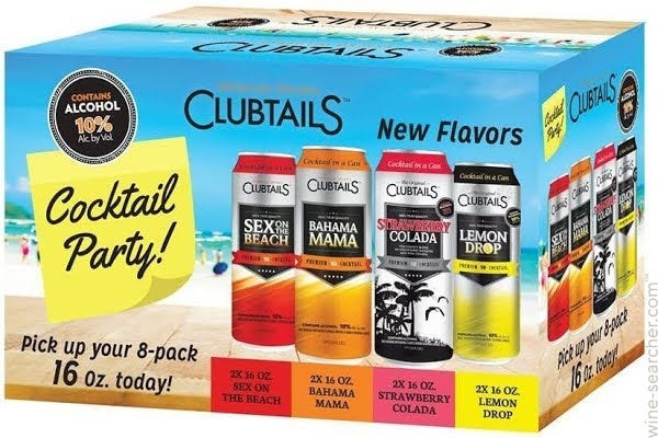 Buy ClubTails Cocktail Variety Pack online at sudsandspirits.com and have it shipped to your door nationwide.