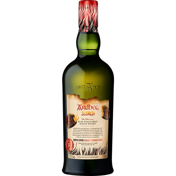 Buy  Ardbeg Scorch Limited Edition online at sudsandspirits.com and have it shipped to your door nationwide.