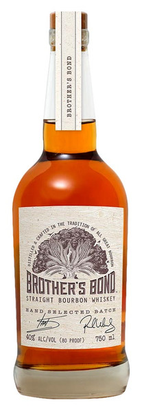 Buy Brother's Bond Straight Bourbon Whiskey online at sudsandspirits.com and have it shipped to your door nationwide.