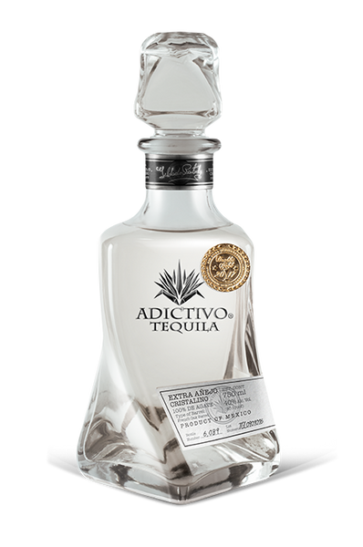 Buy Adictivo Tequila Extra Anejo Cristalino online at sudsandspirits.com and have it shipped to your door nationwide.