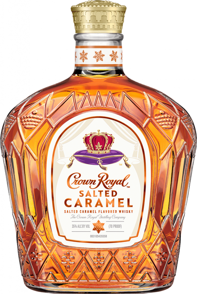 Crown Royal Salted Caramel (50ml) available online at suds and spirits