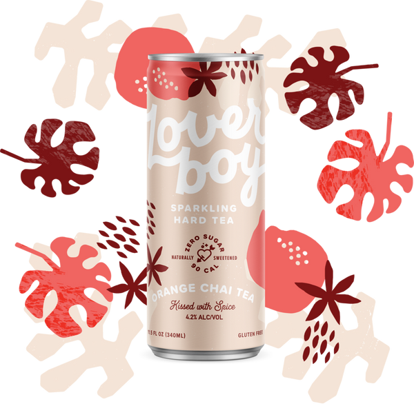 Buy Loverboy Sparkling Hard Tea Orange Chai online at sudsandspirits.com and have it shipped to your door nationwide.