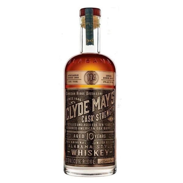 Clyde May's 10 Year Old Cask Strength