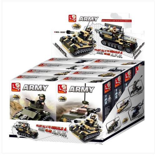 Tank 8in1 Building Brick Set