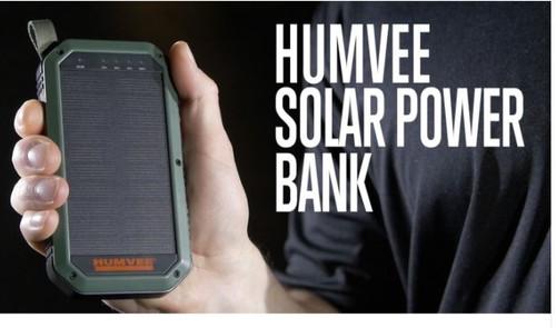 Humvee Solar Power Bank