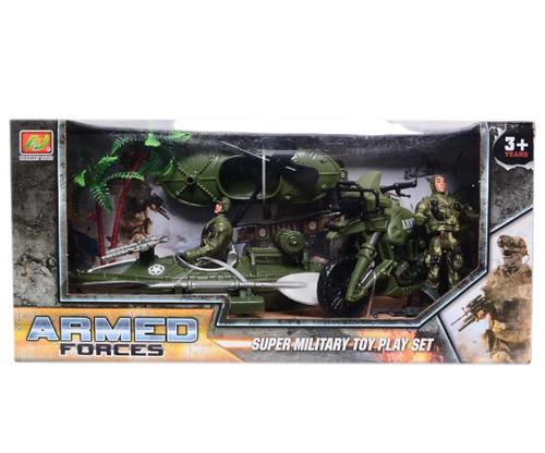 Armed Forces Super Military Toy Play Set