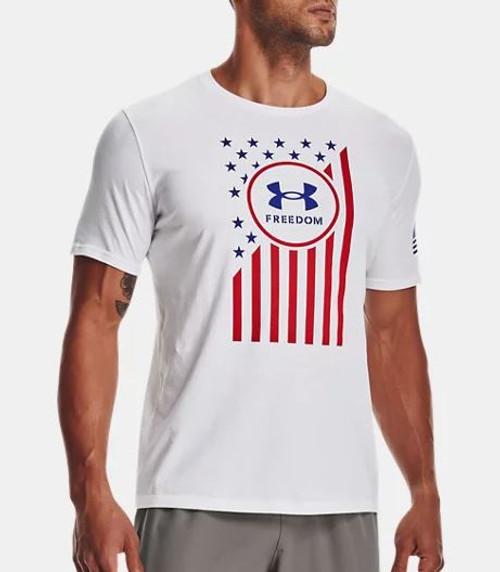 Freedom Chest Flag T-Shirt
