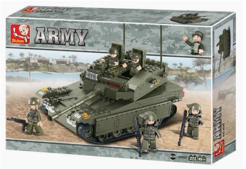 Merkov Military Tank