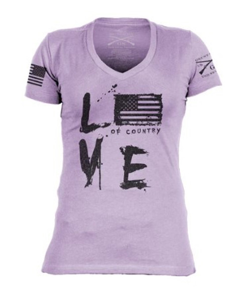 Grunstyle Love of Country V-neck Tee
