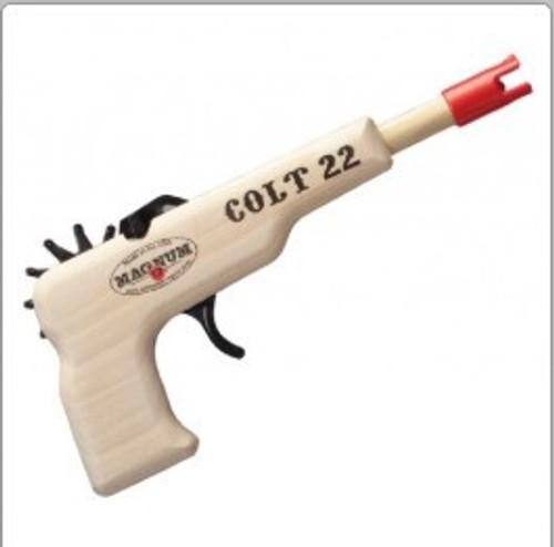 Colt 22 Pistol Rubber Band Pistol