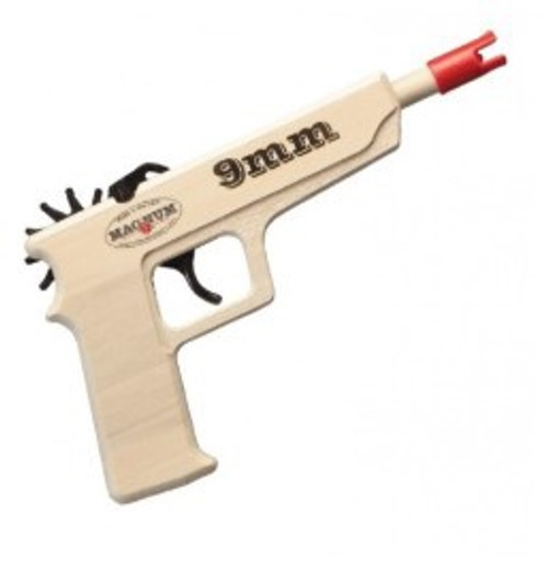 9mm Pistol Rubber Band Gun