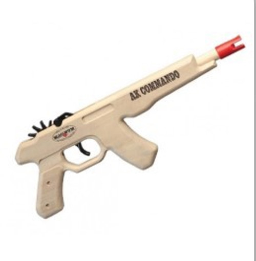 AK Commando Pistol Rubber Band Gun