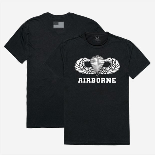 Airborne Black Relaxed T