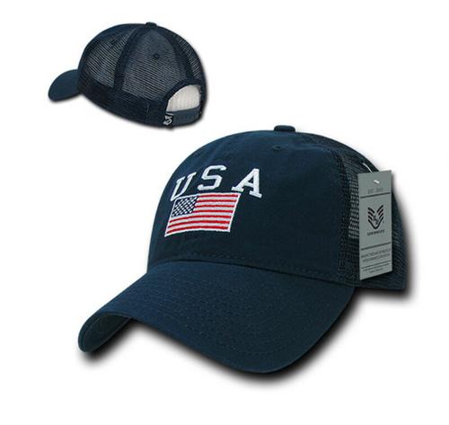 Relaxed Trucker USA  Cap