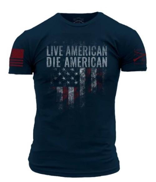 Gruntstyle Live American Die American Tee