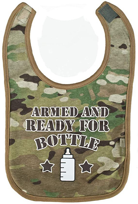 Armed and Ready Bib