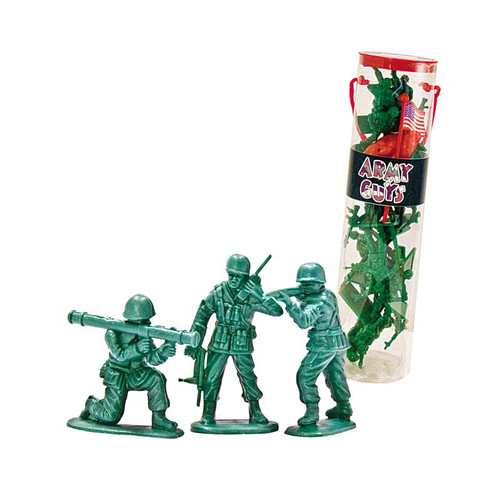 US Army Figures Tube