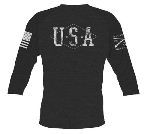 Gruntstyle Hero Raglan Long Sleeve Tee