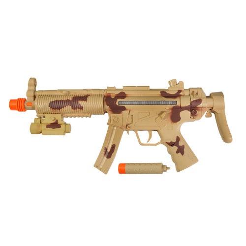 Tatical Machine Gun with Silencer