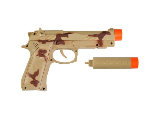 Commander Series 9mm pistol with Silencer