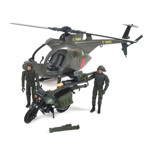 Elite Force Army Strike MH-6 Spec OPs Little Bird Helicopter