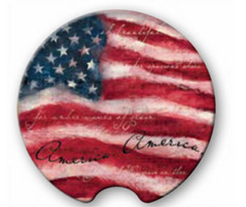 Patriotic  Car Coasters
