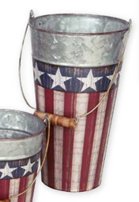 Patriotic Pail - Tall