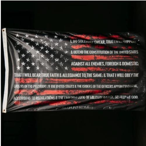 Gruntstyle Oath Flag