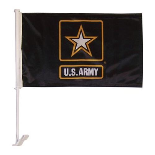 US Army Logo Car Flag