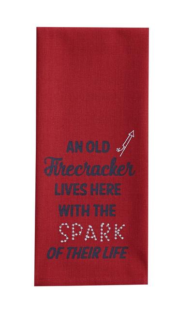 DIsh Towel - Old Firecracker