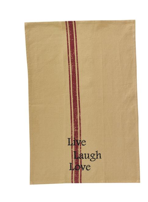 Dish Towel - Live Love Laugh