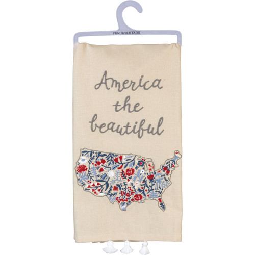 Dish Towel- America Beauty
