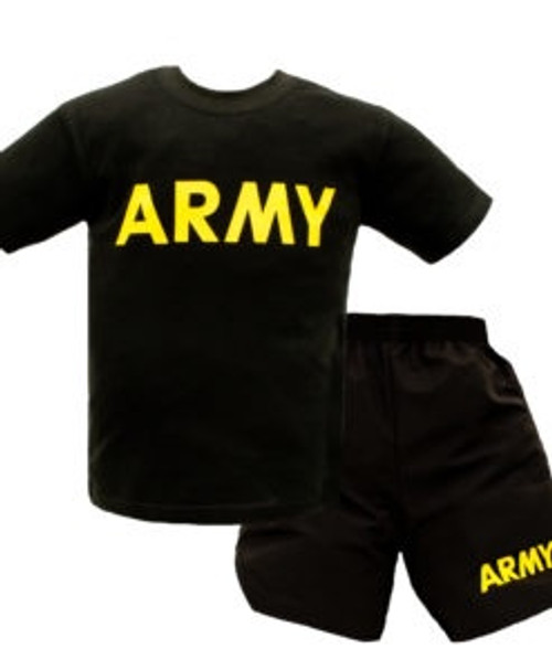 Army Kids PT Set