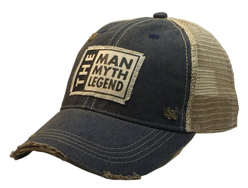 "Distressed Hat ""The Man the Myth the Legend"""