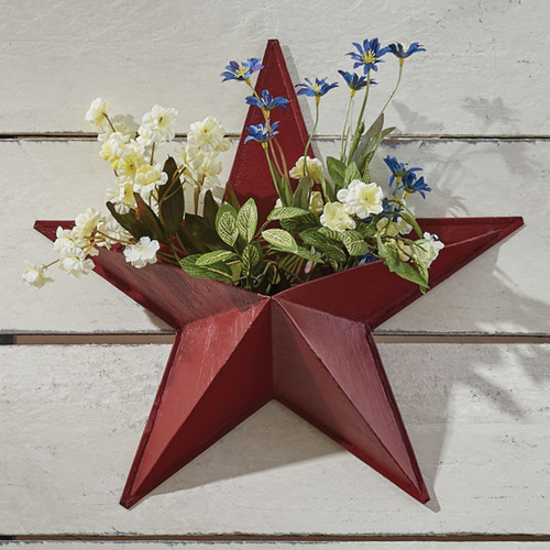 Wall Pocket Red Star