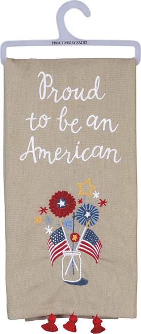 Dish Towel-Proud American