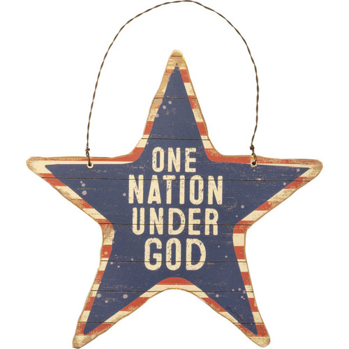 Hanging Star- One Nation