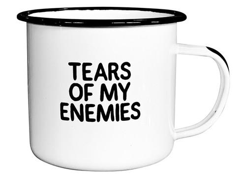 Tears of My Enemies Enamel Mug